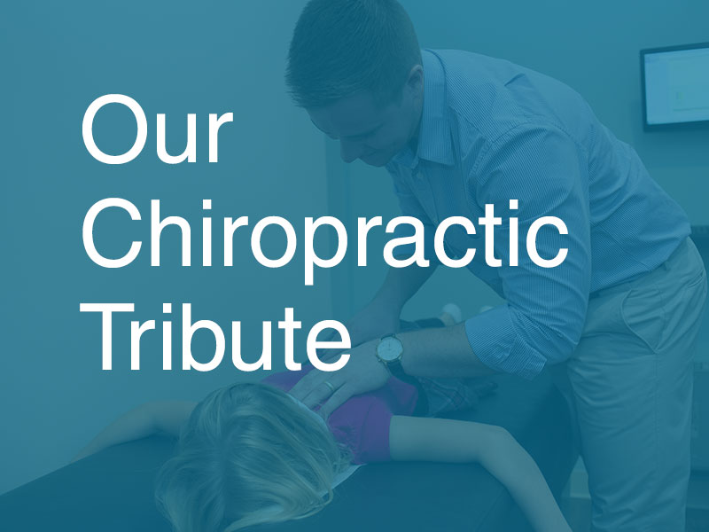 Chiropractic marketing tribute