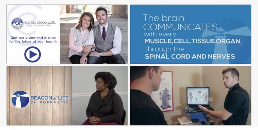 Chiropractic videos testimonial