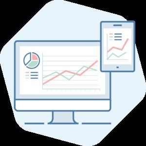 Chiropractic website analytics icon