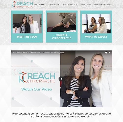 reach chiropractic web marketing for chiropractors